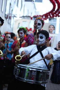 Día de los Muertos Community Festival, Coordinated in parntership with Senderos | Santa Cruz, 2013-2016