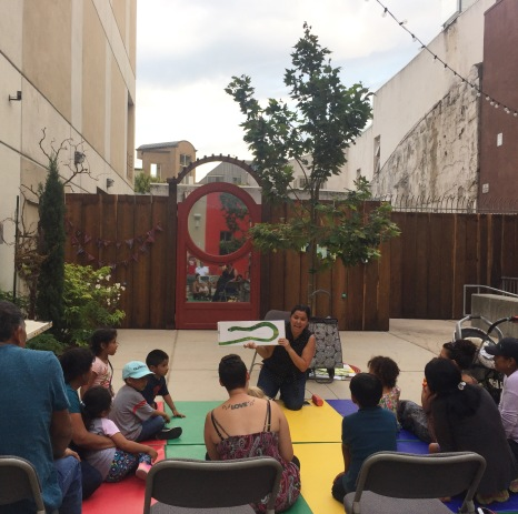 Spanish Storytime, Lead Coordinator in Partnership with Santa Cruz Public Libarires | Abbott Square, Summer 2017