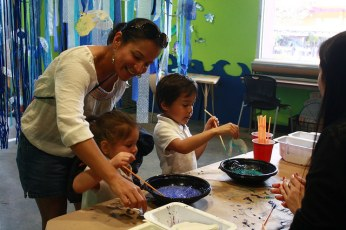 Family Art Days, Lead Coordinator | Santa Cruz Museum of Art & History, 2012