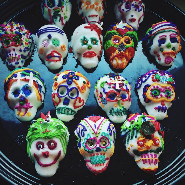 Sugar Skull Workshop, Lead Coordinator | Santa Cruz Museum of Art & History, 2013-2016