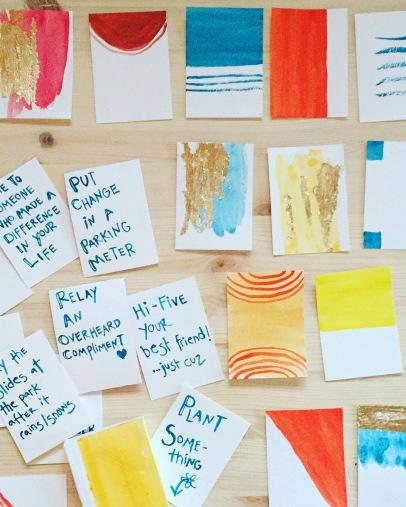 Kindness Cards Workshop