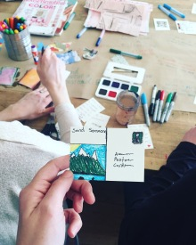 Kindness Cards Workshop, Creator & Facilitator | The Craftsman & Apprentice: February 2018