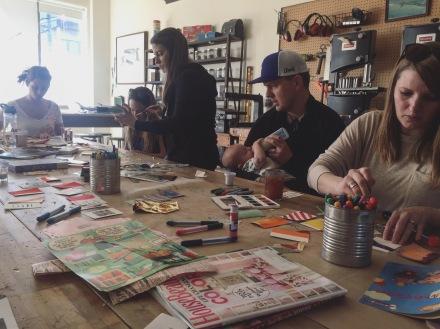 Kindness Cards Workshop, Creator & Facilitator | The Craftsman & Apprentice: February 2018